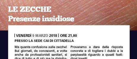 LE ZECCHE PRESENZE INSIDIOSE – 09.03.2018