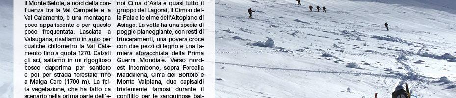 Monte Setole – 18.03.18