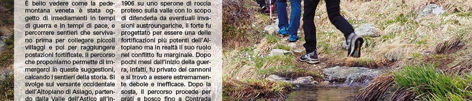 Forte Corbin e Sent. del Raparo 25/03/18