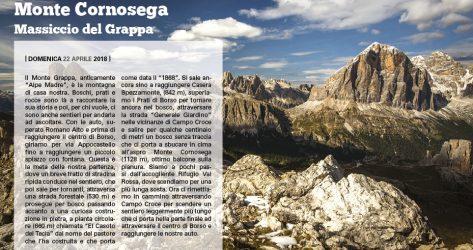 Monte Cornosega<br>22/04/2018