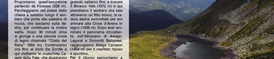 Cima Loreto e Monte Avena13/05/2018