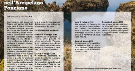 Arcipelago Ponziano<br>30/05 – 03/06/2018