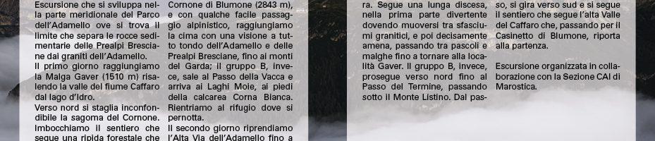 Cornone di Blumone14-15/07/2018